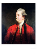 Portrait of Edward Gibbon circa 1779
