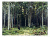 Countess Mordvinov&#39;s Forest  1891