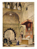 "Cordoba: Monk Praying at a Christian Altar in the Mosque  from ""Sketches of Spain"""