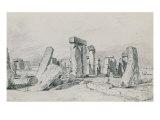 Stonehenge  Wiltshire  1820