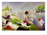 Bathers at Asnieres  1884