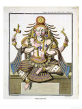 "An Aspect of Shiva  from ""Voyage Aux Indes Et a La Chine"""