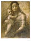 Virgin and Child  Preparatory Cartoon for the &quot;Mackintosh Madonna&quot;