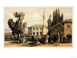 """Tirana  from """"Journals of a Landscape Painter in Albania and Greece """" Published 1851"""
