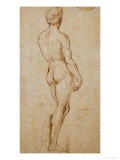 Study of David  after Michelangelo