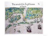 The Arrival of the Englishmen in Virginia