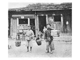 Chinese Hawkers  circa 1870