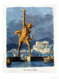 "The Colossus of Rhodes  from a Series of the ""Seven Wonders of the Ancient World"""