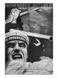 "Poster for Sergey Eisenstein's Film  ""Battleship Potemkin"""