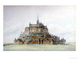 Project for Restoration of Mont Saint-Michel  March 1875