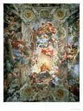 Glorification of the Reign of Pope Urban VIII Ceiling Painting in the Great Hall  1633-39