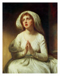 Lady Hamilton Praying