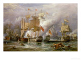 The Battle of Cape St Vincent  14th February 1797