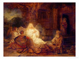 Abraham Receives the Three Angels