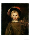 Young Boy in Fancy Dress  circa 1660