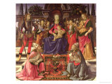 Madonna and Child with Ss Justus  Zenobius and the Archangels Michael and Raphael