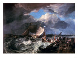 Calais Pier: an English Packet Arriving  circa 1802