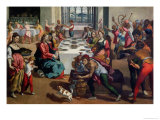 Wedding at Cana  1580-85