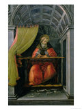 StAugustine in His Cell
