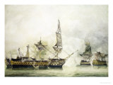HMS Victory at the Battle of Trafalgar  1805