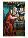 St Jerome in His Study  1480 (Detail)