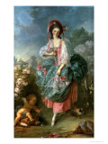 Portrait of Mademoiselle Guimard as Terpsichore  circa 1799