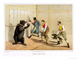 Bear Baiting  Published by Thomas Mclean  1820