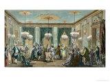 The Evening Dress Ball at the House of Monsieur Villemorien Fila