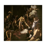 The Martyrdom of St Matthew  1599-1600