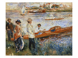 Oarsmen at Chatou  1879 (Oil on Canvas)