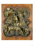 The Sacrifice of Isaac  Bronze Competition Relief for the Baptistry Doors  Florence  1401