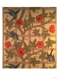 """Trellis"" Wallpaper Design  1864"