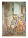 St Peter Healing with His Shadow  circa 1427