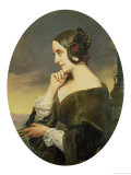 Portrait of the Countess Marie D'Agoult 1843