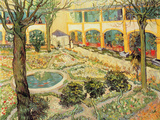 The Asylum Garden at Arles  c1889
