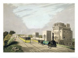 View of the Manchester and Liverpool Railway Taken at Newton 1825