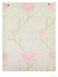 &quot;Garden Tulip&quot; Wallpaper Design  1885