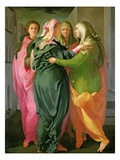 The Visitation  1528-30 (Fresco) (See 208284 and 60439 for Details)