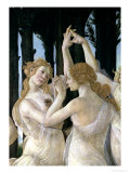 Primavera: Detail of Two of the Three Graces