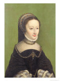 Portrait of a Lady  Said to be Jeanne D'Albret  Mother of Henri IV of France