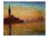 View of San Giorgio Maggiore  Venice by Twilight  1908