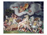 Achilles Dragging the Body of Hector Round on His Chariot  Detail