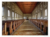 The Reading Room of the Laurentian Library  1534