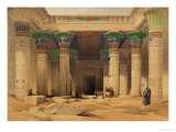 Grand Portico of the Temple of Philae  Nubia  from &quot;Egypt and Nubia &quot; Vol1