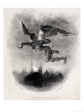 Mephistopheles' Prologue in the Sky  from Goethe's Faust  1828