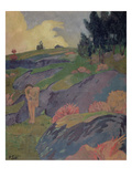 Melancholia  or Breton Eve  C1890