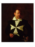 Portrait of a Knight of Malta  Possibly Fra Antonio Martelli  1607-08