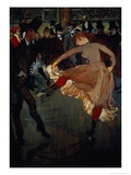 The Dance at the Moulin Rouge: Detail Showing Valentin Dessose