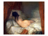Reclining Female Nude  circa 1844-45