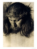 Head of Christ  circa 1890